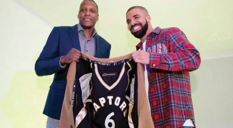 Raptors Drake, fundador da OVO, é o atual  embaixador mundial do Toronto Raptors