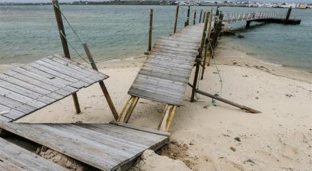 Temporais causaram prejuízos elevados em Portugal