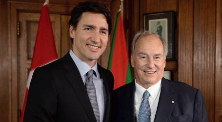 Trudeau to dine with the Aga Khan in Ottawa