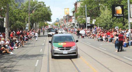 Clubes elogiam organização da Parada de Portugal em Toronto