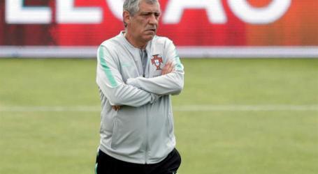 """Fernando Santos garante que jogadores do Sporting """"estão iguais aos outros 23"""""""