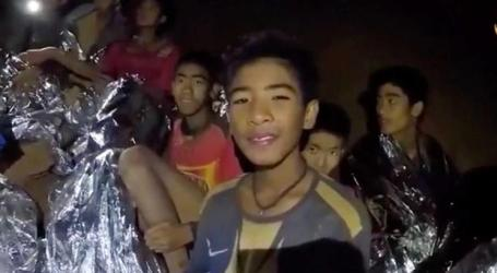 Benfica convida grupo resgatado de gruta para estágio no Seixal