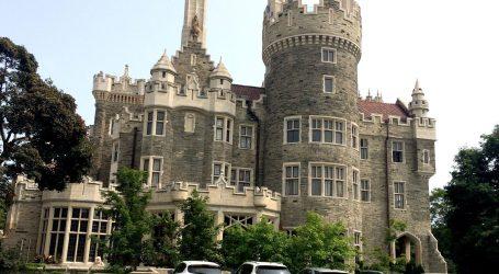 Casa Loma é o único castelo de tamanho real da América do Norte