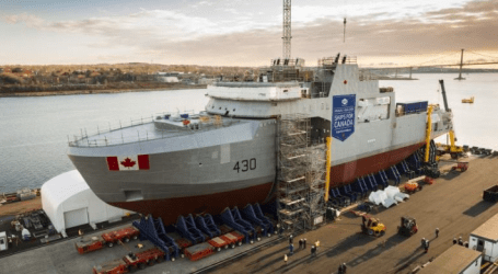 The Liberals want to 'refresh' the shipbuilding strategy