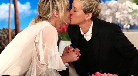 Ellen DeGeneres e Portia de Rossi celebram dez anos de casamento