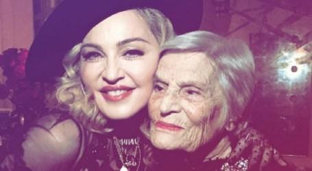 """Madonna homenageia a """"lenda do fado"""" Celeste Rodrigues"""