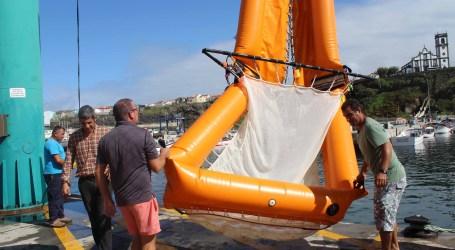 Dispositivo inovador de recolha de lixo marinho testado em Rabo de Peixe
