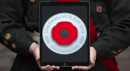Royal Canadian Legion launches digital poppy