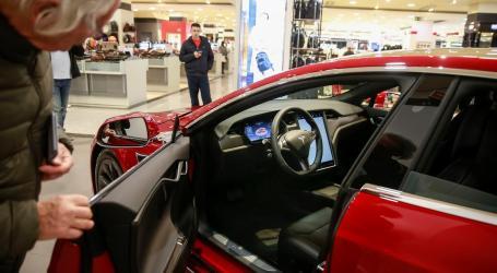 Norte-americana Tesla abriu primeira loja no Norte