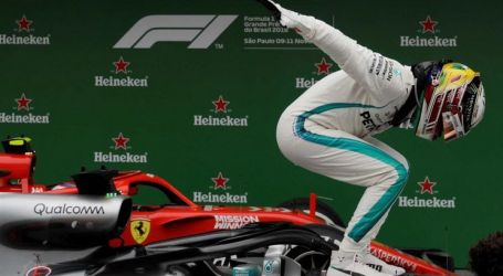 Lewis Hamilton vence GP do Brasil