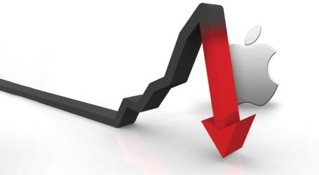No final do ano passado, a maçã caiu e os mercados bolsistas estremeceram