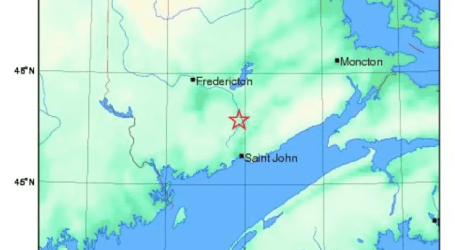 3.7 magnitude earthquake hits area northwest of Hampton