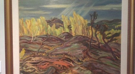 Original painting by member of Group of Seven stolen from Annex home