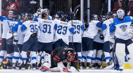 Canada's medal hopes shattered as Finns fight back to win in OT