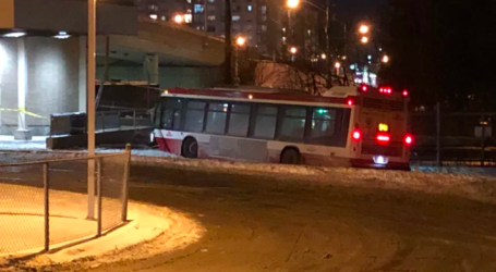 10 people taken to hospital following TTC bus collision