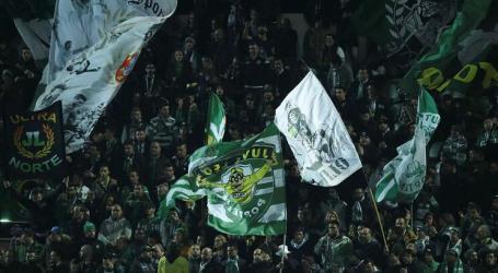 Sporting pede intervenção da Liga para evitar entradas tardias de adeptos