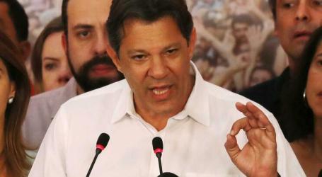 Fernando Haddad quer esquerda de novo a dialogar com a sociedade brasileira