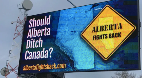 Billboard campaign asks Albertans to consider separation from Canada