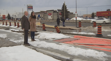 'It's a mess': Scarborough businesses struggling as Eglinton LRT construction drags on
