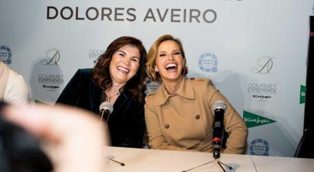Cristina Ferreira e Dolores Aveiro juntas em lançamento de vinhos e azeites
