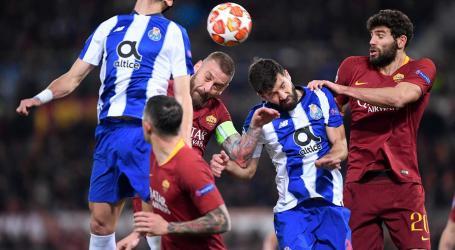 F. C. Porto perde mas sai vivo do Coliseu de Roma