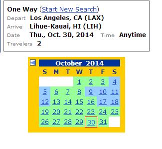 LAX-LIH UA