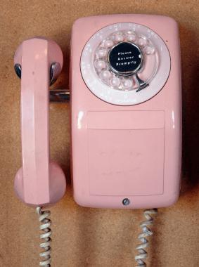 Corded Rotary Phone