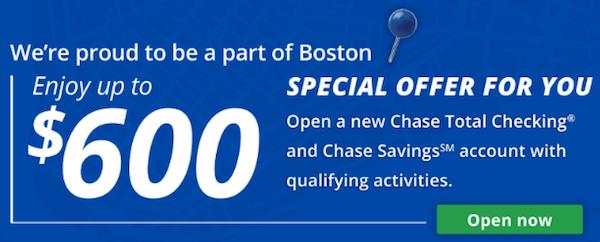 chase boston signup bonus