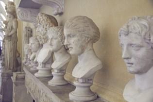 Vatikanisches Museum, Rom, Städtetrip, Statuen, Statuenhalle