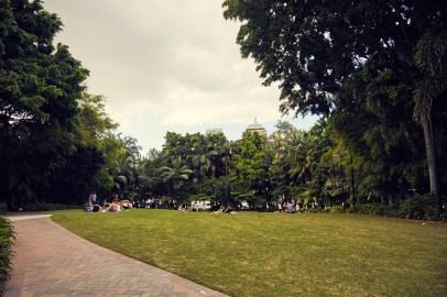 Brisbane, South Bank, Park, chillen, relaxen, picnic, area, public, family, Familien, holiday, Urlaub, easter