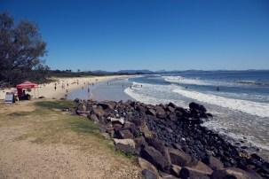 Byron Bay, Australien, Beach, Australia, roadtrip, must see, baden, surfen, fun time, relaxen, Ausblick, view, Strand