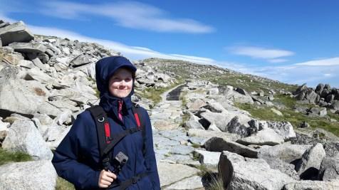 Mount Kosciuzko, Australien, Australia, Wind, Rollei, Actioncam, Selfiestick, wandern, Wanderung, keine Kondition