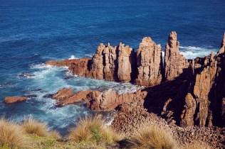 Pinnacles, Lookout, Phillip Island, Australien, Wanderweg, Spaziergang,