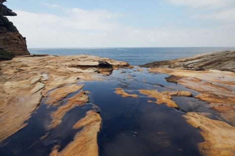 Landschaft, landscape, Royal National Park, Nationalpark, Meer, Klippen, cliffs, coast, Küste, Felsen