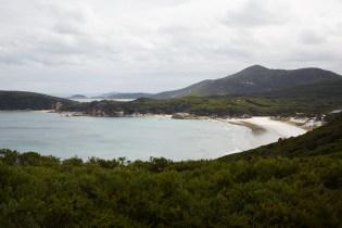 Squeaky, beach, track, Wilsons Promontory, Nationalpark, National Park, Bucht, bay, Ziel, Wanderweg