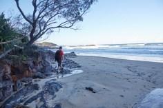 Strand, beach, Ronnie, Hat Head, Nationalpark, kleine Wanderung, Ausflug, Tagesausflug, Australien, Roadtrip
