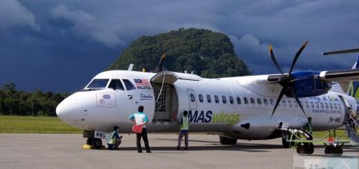 MASWing Flug MH3753 nach Kuching