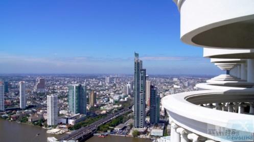 Ausblick auf Bangkok aus dem 58. Stock