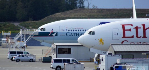 Boeing 777 - Cathay Pacific und Etihad Cargo