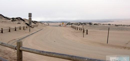 Rückweg durch die Dunes