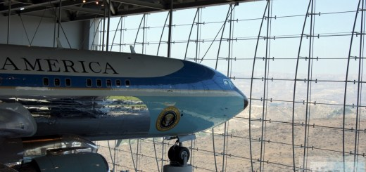 El Air Force One (Boeing 707)