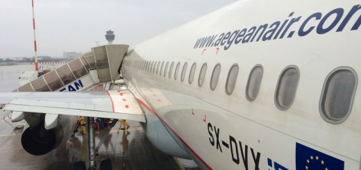 Aegean Airlines Airbus A320-200 - Boarding in Athen
