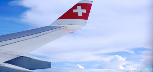 SWISS A340-300 Winglets