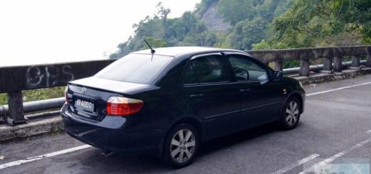 Car rental at Langkawi - Toyota