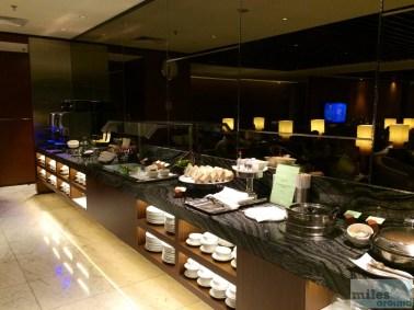 Buffet - Krisflyer Gold Lounge Singapur