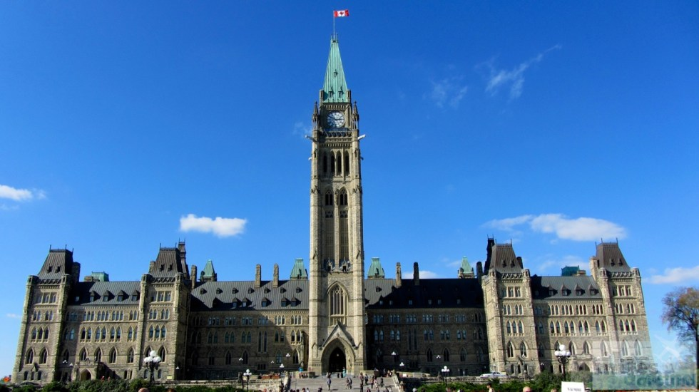 House of Parliament in Ottawa