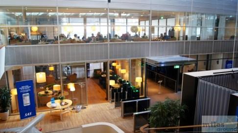 SAS Lounges Kopenhagen - Eingangsbereich