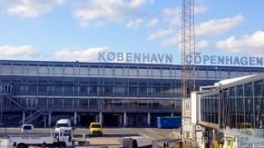 Pushback am Flughafen Kopenhagen