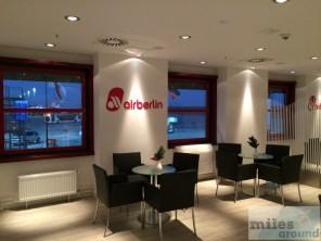 airberlin Exklusiver Wartebereich am Flughafen Berlin-Tegel