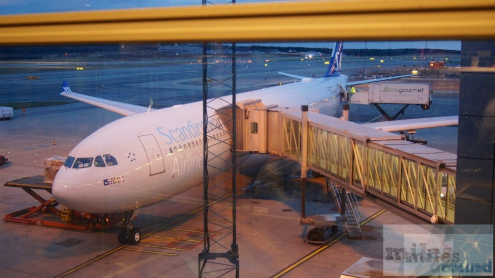 Our plane to Chicago - SAS Airbus A330-300 LN-RKR